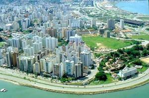 Vistas Aéreas de Cidades; Florianópolis